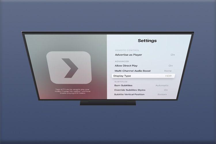 Plex réactive la lecture HDR sur l'AppleTV4K