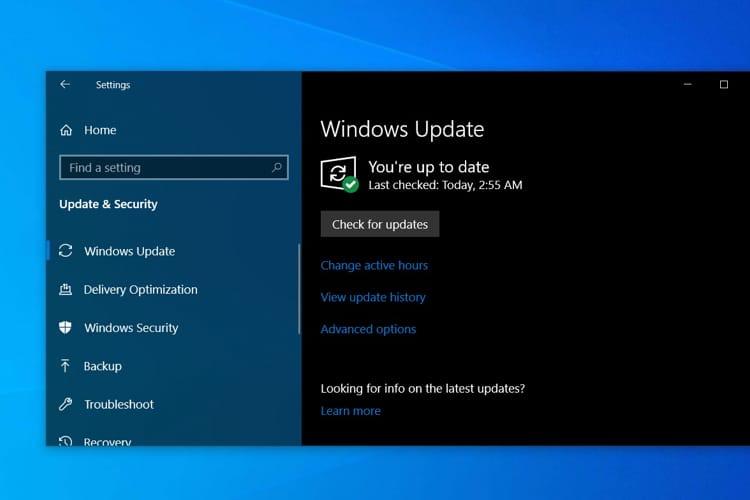 La dernière version de Windows10 n'est pas disponible pour les anciens Mac