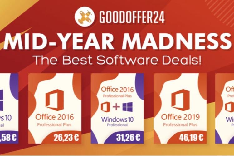 Promos Microsoft : des clés Windows 10 à 10,5€ (idéal pour Boot Camp), et la suite Office à 26,23€!  📣