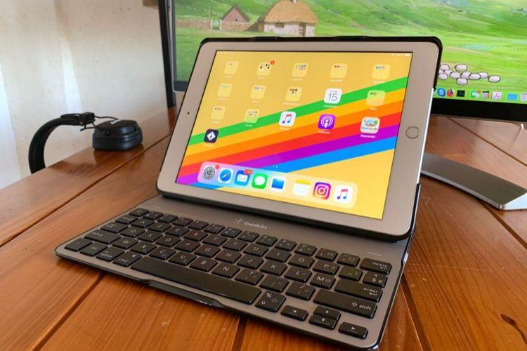 Test de l'étui-clavier Belkin Qode Ultimate Lite pour iPad