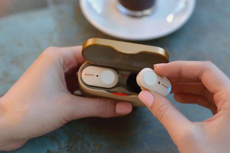 Les écouteurs Sony WF-1000XM3 veulent réduire au silence les AirPods