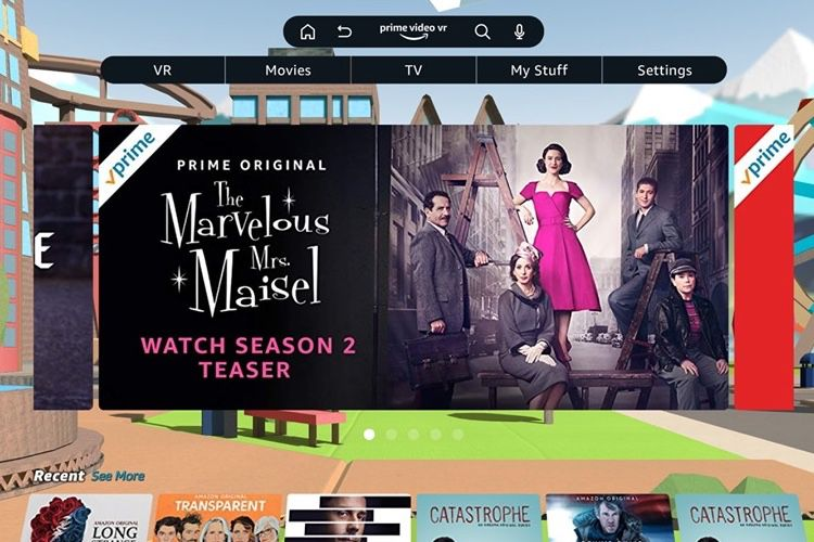 Amazon Prime Video se regarde maintenant en réalité virtuelle