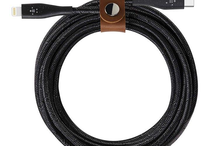 Belkin commercialise des câbles Lightning et USB-C renforcés à l'aramide