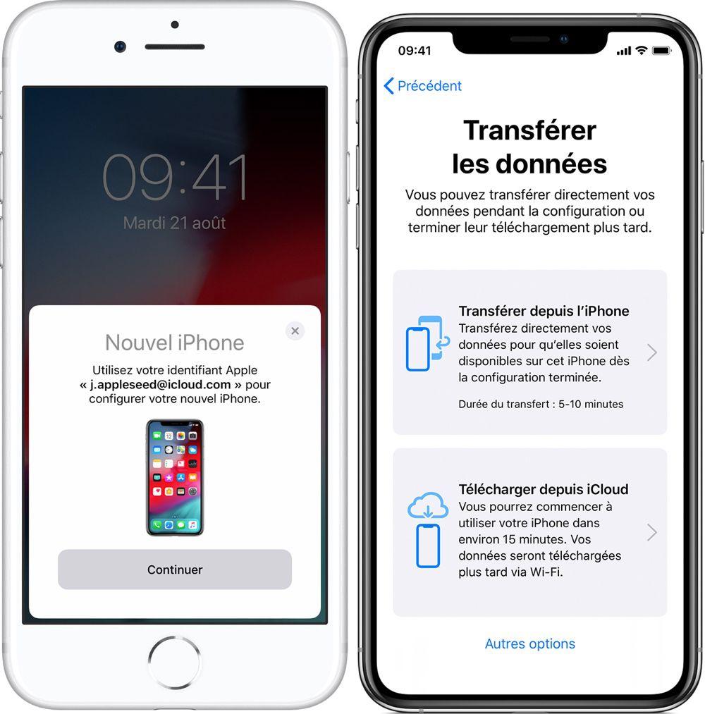 foto de iOS 12.4 : Apple détaille la nouvelle fonction de migration des ...