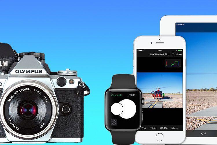 Cascable, une excellente app pour gérer son appareil photo en Wi-Fi