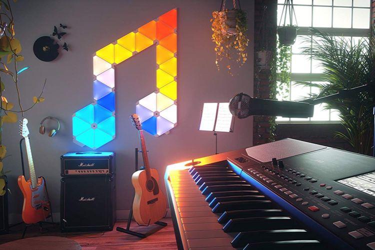 Prime Day Nanoleaf: le kit Rhythm avec 9 triangles à 139,9€, la télécommande à 44,9€