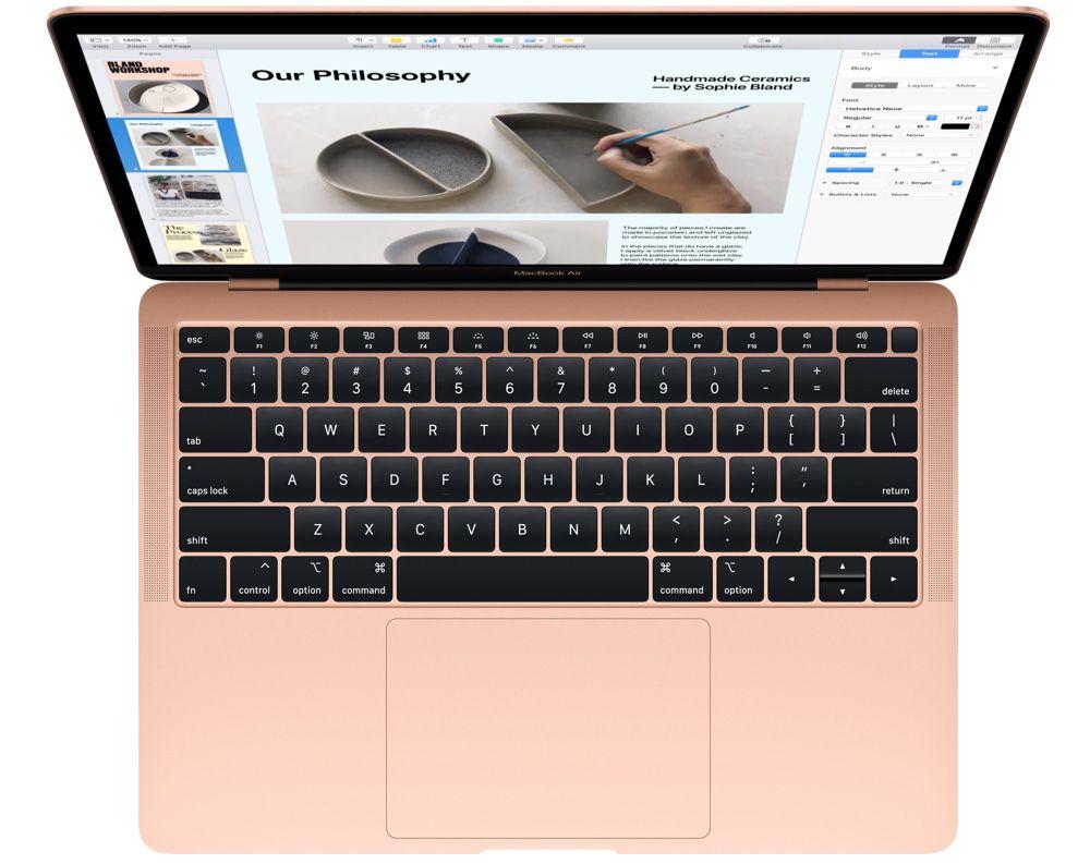 Pourquoi Apple veut changer leur clavier — MacBook