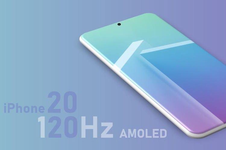 Une fréquence d'affichage jusqu'à 120 Hz pour les iPhone 2020 ?