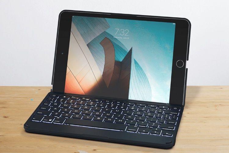 Zagg lance un clavier rétro-éclairé pour l'iPadmini 5
