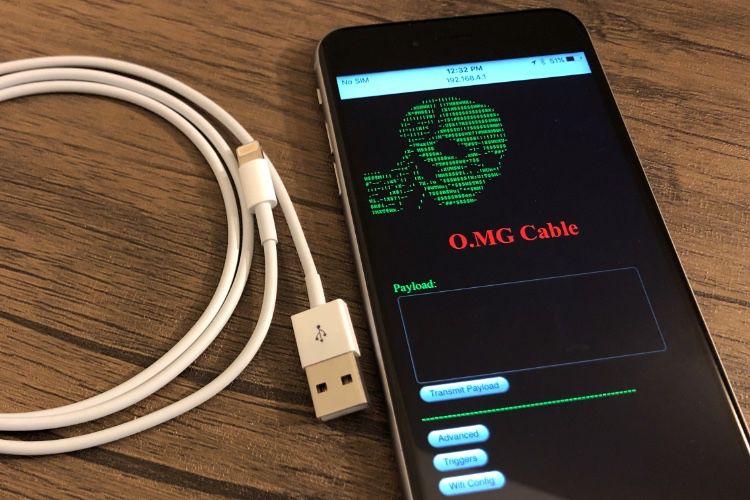 O.MG Cable : un câble Lightning qui pille le Mac