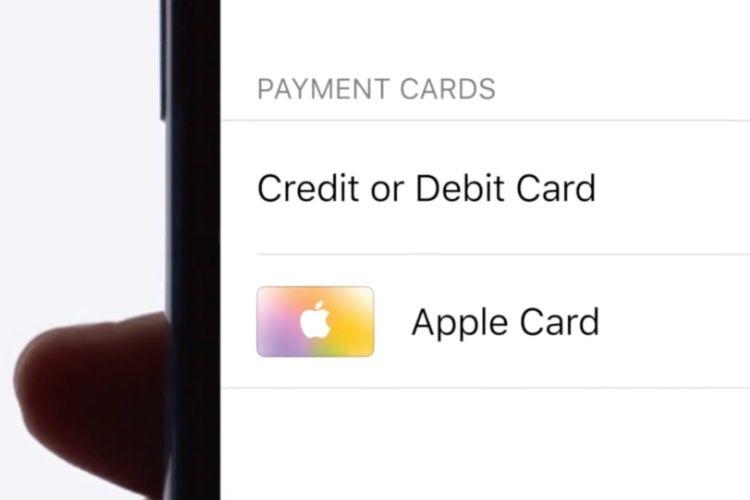 La souscription à l'Apple Card ouverte à une poignée d'heureux élus
