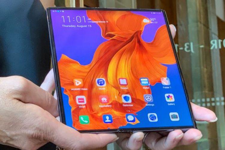 Huawei reporte son MateX pliable à fin 2019