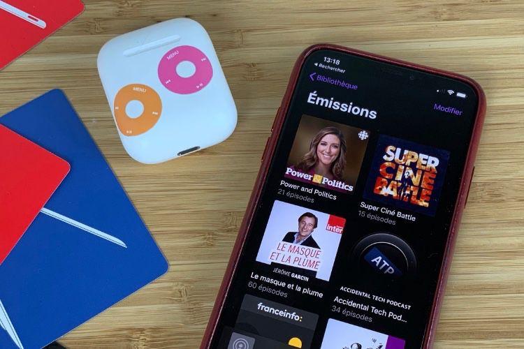 iOS13 : le téléchargement automatique des nouvelles émissions fonctionne mieux en cellulaire dans Podcasts