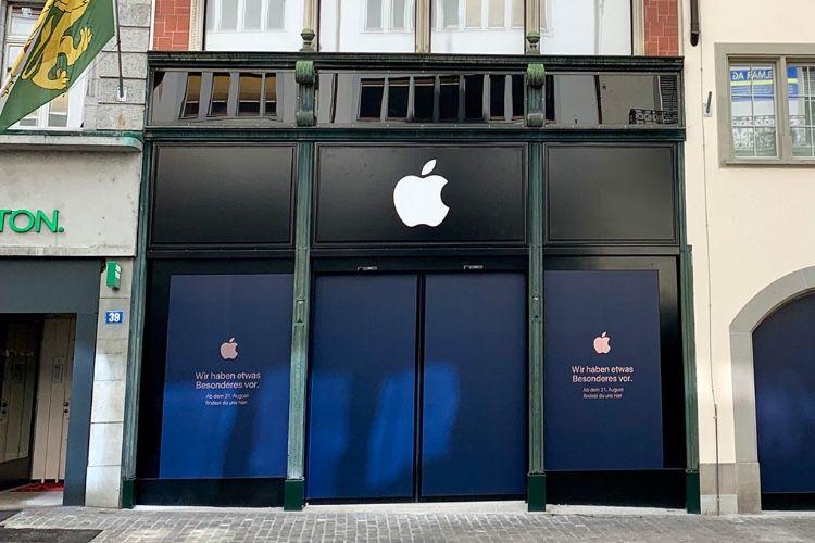 L'AppleStore de Zurich va déménager pour plus petit
