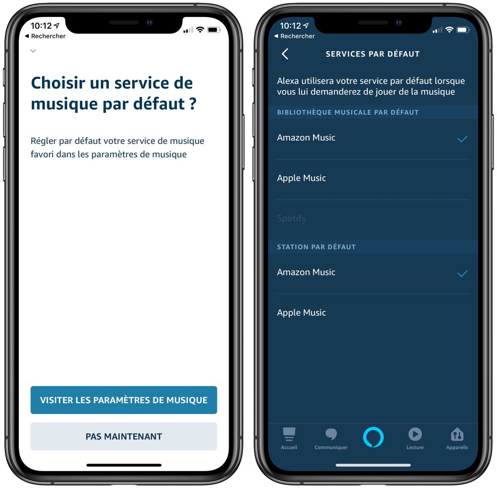 Disponible sur les enceintes Amazon en France — Apple Music