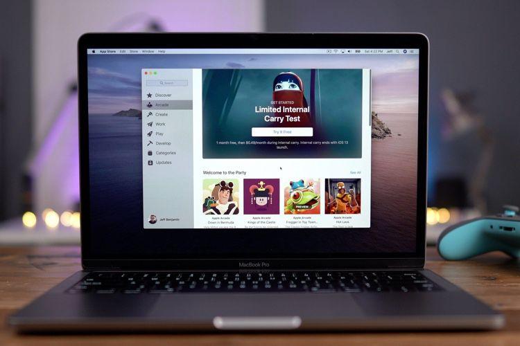 video en galerie : Apple Arcade : aperçu en vidéo de plusieurs jeux mobiles sur Mac