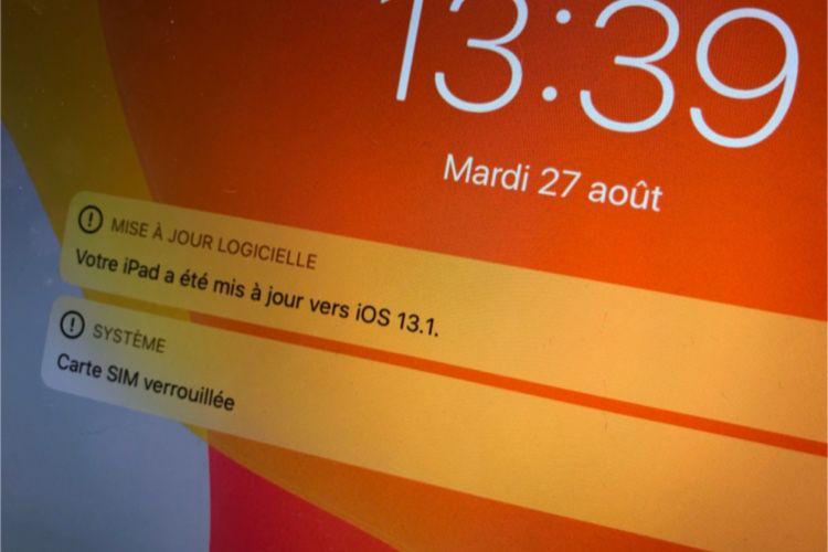 iOS13.1 restaure plusieurs fonctions disparues d'iOS13