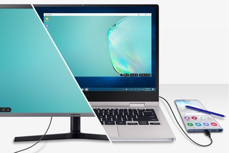 Galaxy Note10 : le mode DeX de Samsung s'affiche dans macOS et Windows