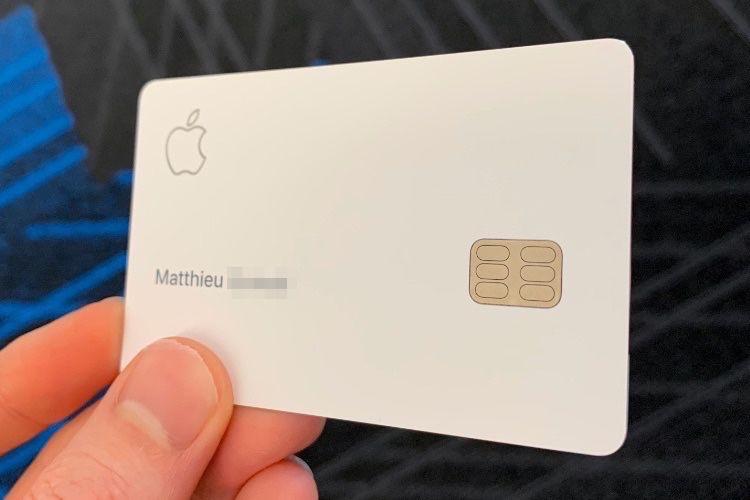 Aperçu de l'Apple Card en français