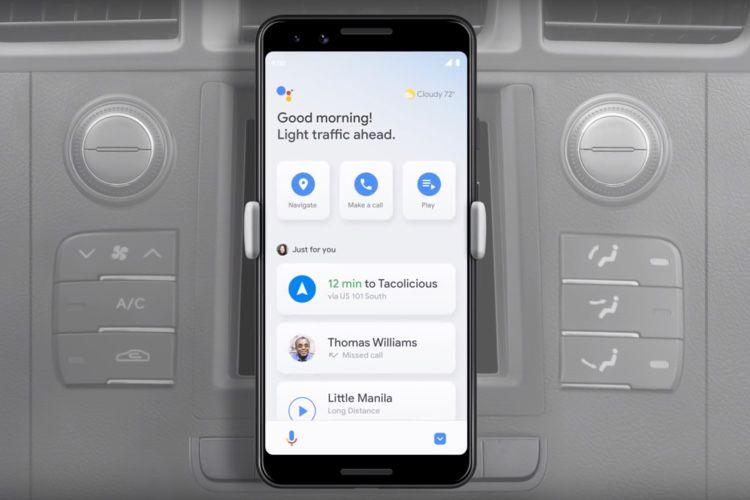 L'app mobile Android Auto va se fondre dans Google Assistant