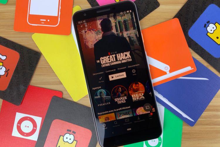 Netflix voulait suivre l'activité physique de ses abonnés