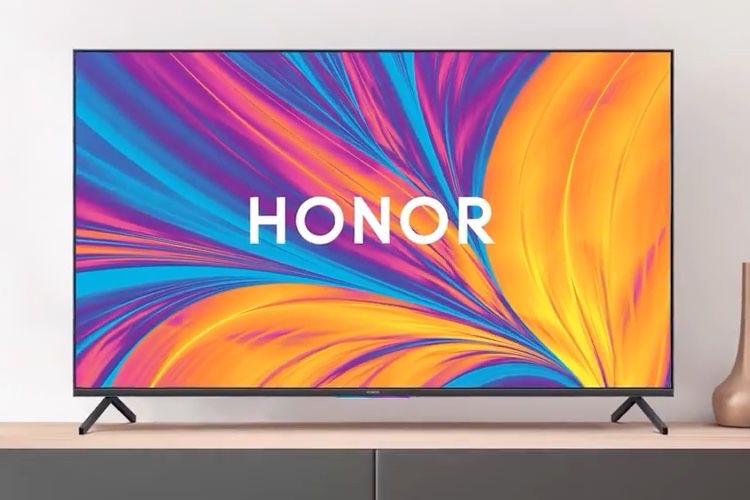 Honor lance son premier téléviseur équipé d'une caméra pop-up et d'HarmonyOS