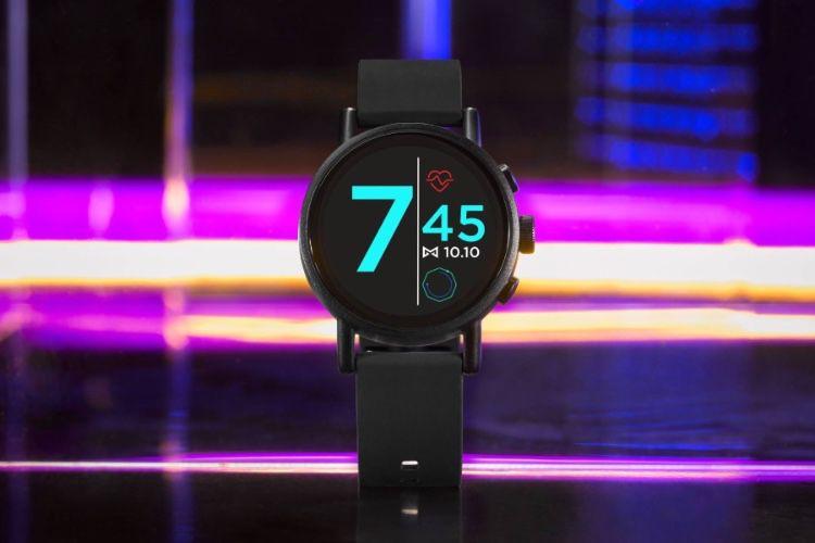 Vapor X de Misfit : une montre Wear OS ronde et sportive