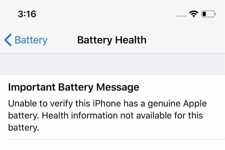 Remplacement de batterie chez un réparateur non agréé : Apple défend son verrou