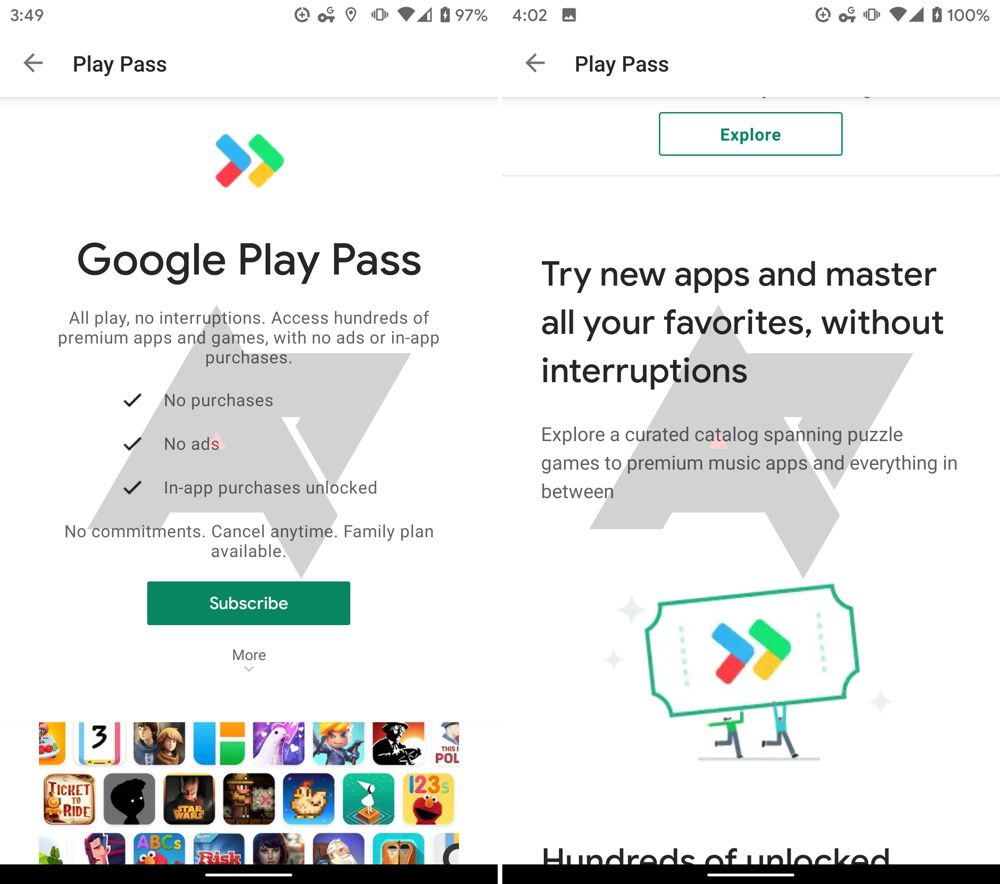 Google teste un abonnement pour les applications mobiles payantes