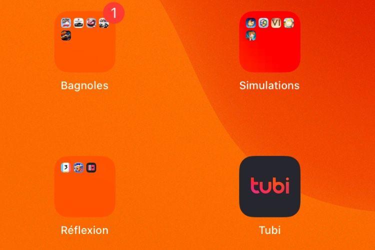 iOS13 ajoute beaucoup de transparence dans les dossiers d'apps