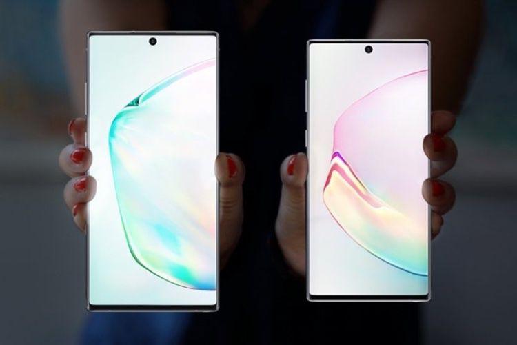 Le Galaxy Note10 coince la bulle