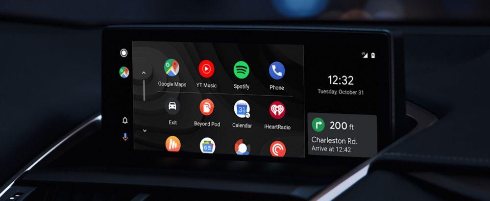 Android Auto : le nouveau design de la version embarquée en cours de