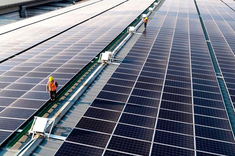 À Taïwan, des panneaux solaires Apple sur le toit d'une usine de sauce soja