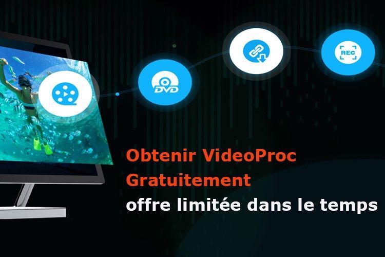 Convertir et éditer vos vidéos 4K d'iPhone efficacement : obtenez une licence gratuite de VideoProc!  📣