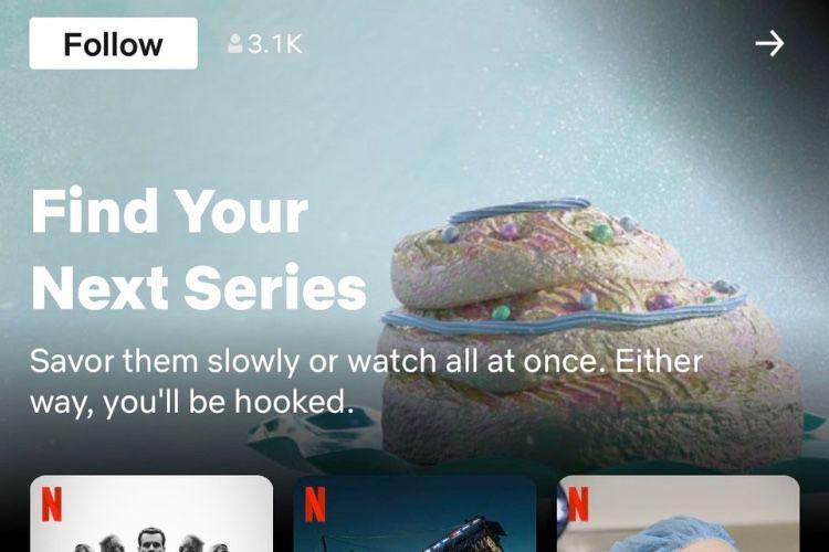 Des collections de programmes choisis par des humains chez Netflix