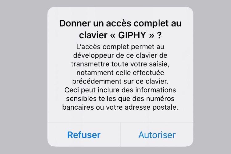Bientôt une mise à jour d'iOS pour corriger une faille dans les claviers alternatifs