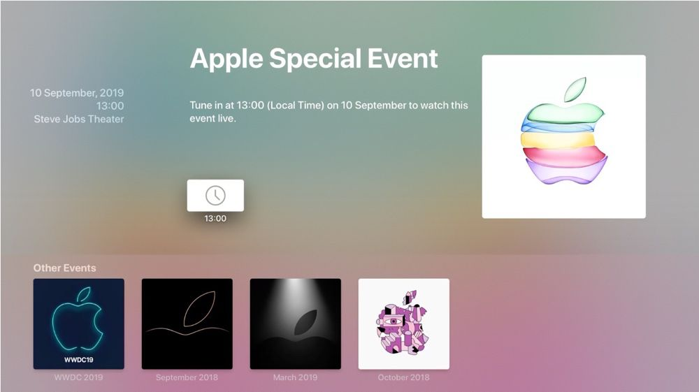 L Apple Tv Se Prepare Au Keynote Du 10 Septembre Igeneration