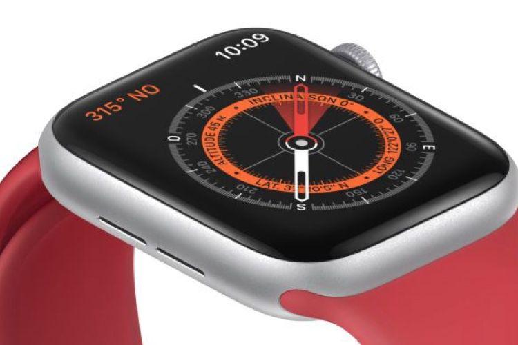 AppleWatch Series 5 : la boussole n'aime pas les bracelets avec aimants