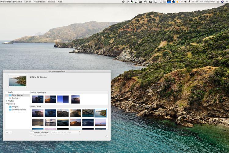 Découvrez les nouveaux fonds d'écran de macOS Catalina
