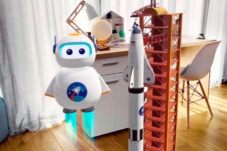 AR-kid: Space: la découverte de l'espace en réalité augmentée pour les enfants