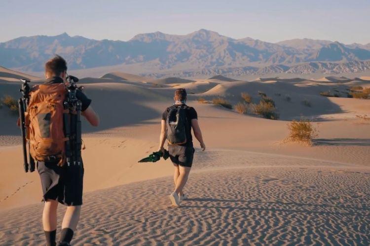 video en galerie : Une balade californienne pour retrouver les fonds d'écran de macOS