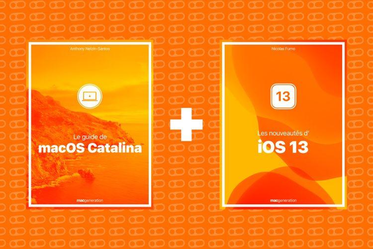 iOS13 et macOSCatalina: nos nouveaux livres en précommande