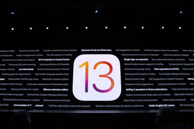 Ne vous précipitez pas sur iOS13.0