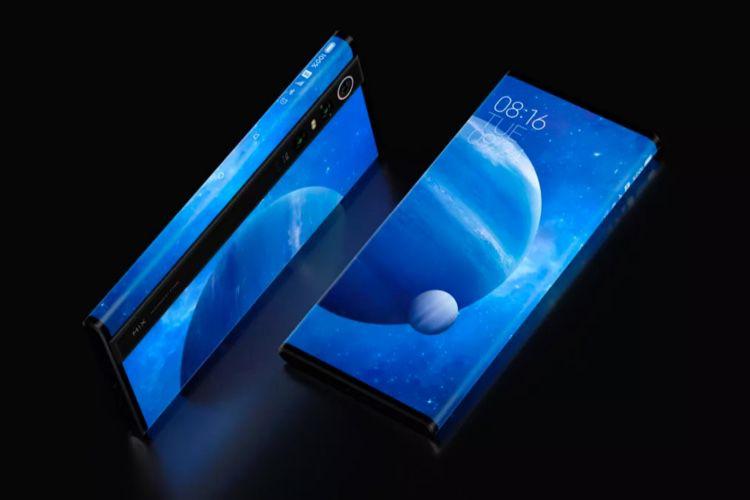 Mi MIX Alpha: un «smartphone concept» à écran enveloppant