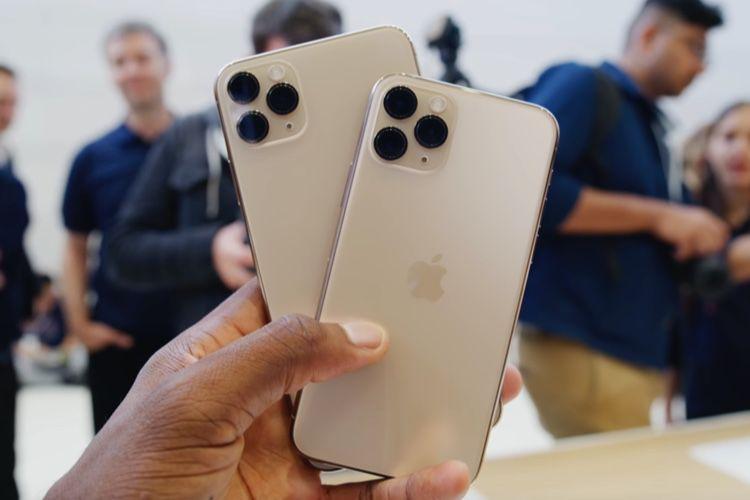 Les iPhone 11 et 11 Pro comparés aux iPhoneXR et XS