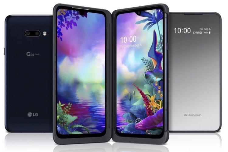 G8X ThinQ, le nouveau smartphone à deux écrans de LG