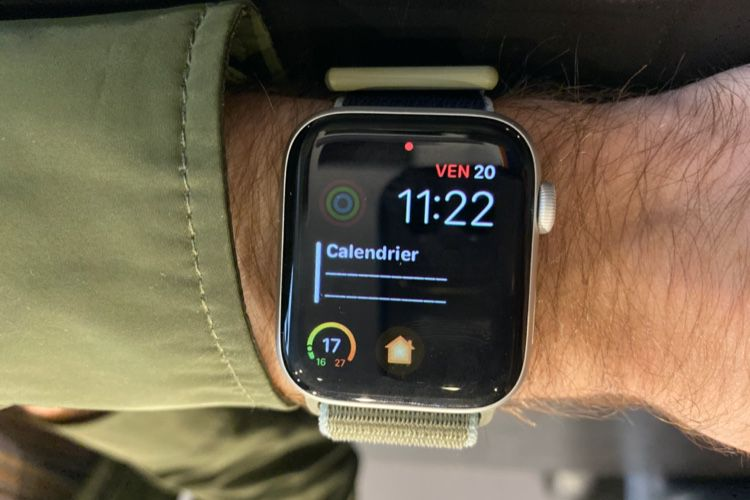 """AppleWatch Series 5 : à quoi ressemble l'écran """"toujours allumé"""""""