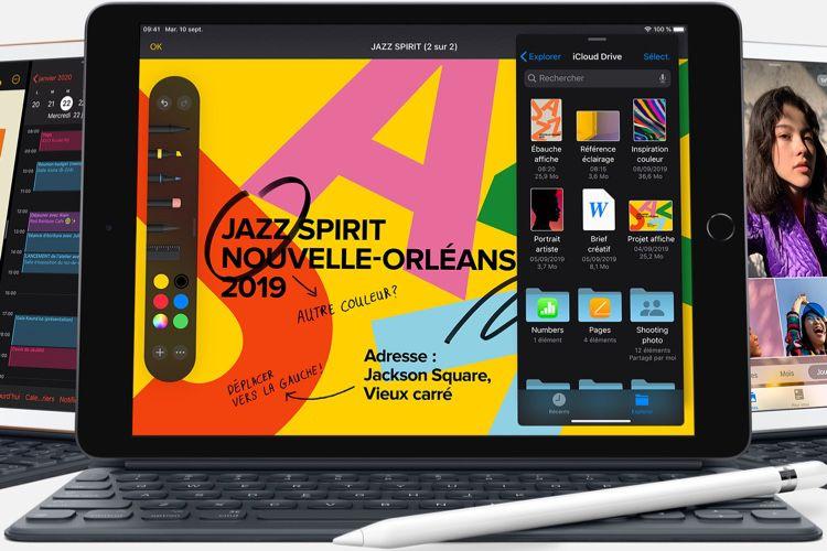 L'iPad 7 déjà en précommande à partir de 389€, sortie le 30 septembre