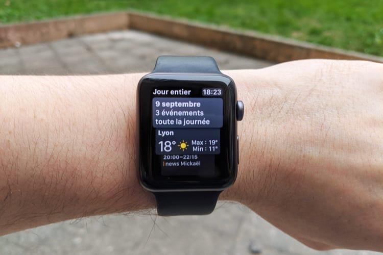 Astuce : paramétrer le cadran Siri de l'AppleWatch sous iOS13