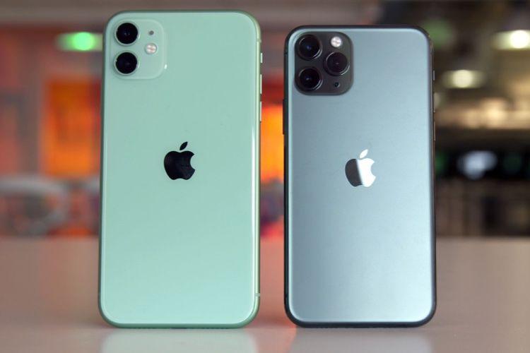 iPhone 11et 11 Pro: modem Intel, 4 Go de RAM et capacités des batteries